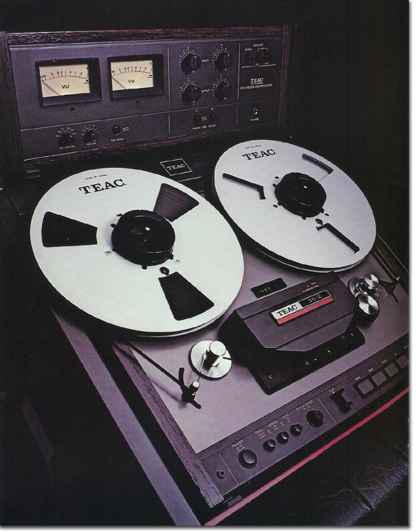 pictures of the 35-2 from the 1979 Teac Tascam brochure