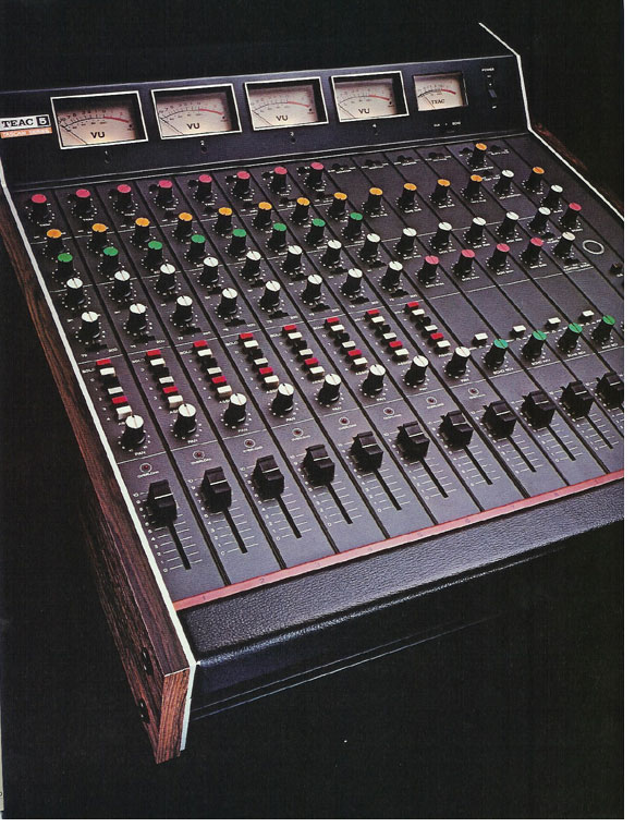 pictures of the Teac Model 5 from the 1979 Teac Tascam brochure
