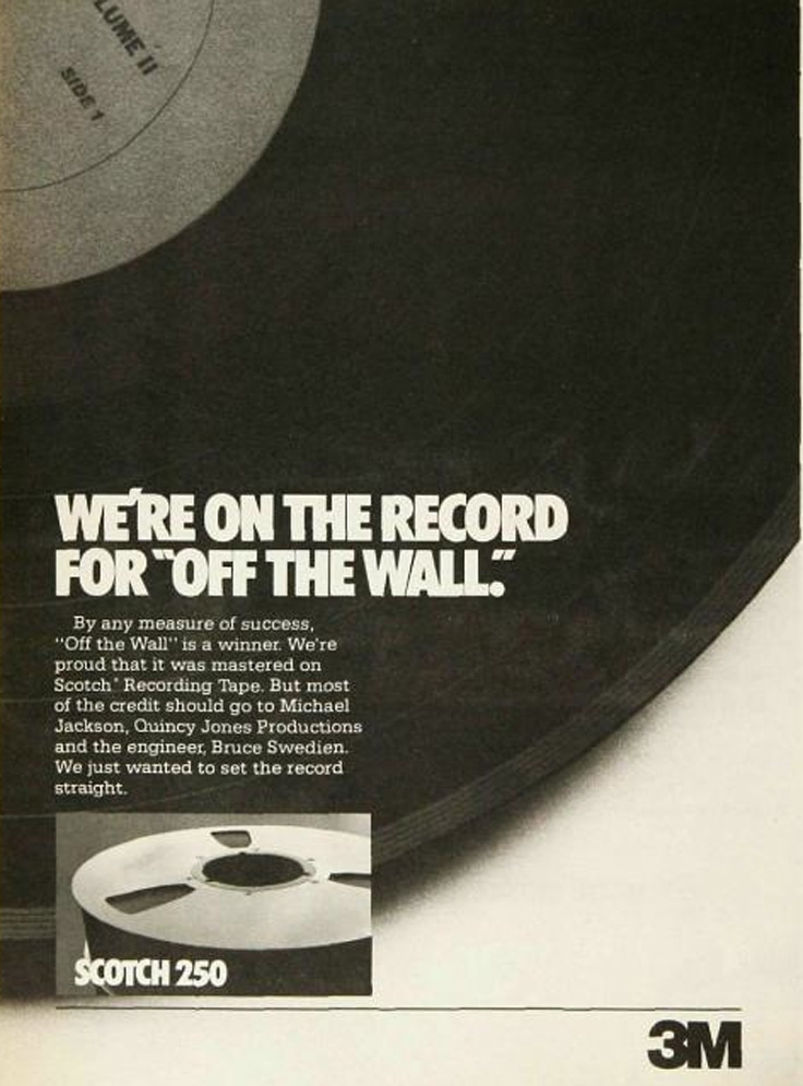 1980 ad for Scotch reel to reel recording tape in   Reel2ReelTexas.com's vintage recording collection