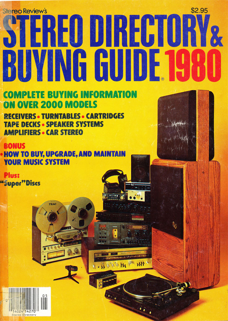 1980 Stereo Directory & Buying Guide in the reel2reeltexas vintage recording collection