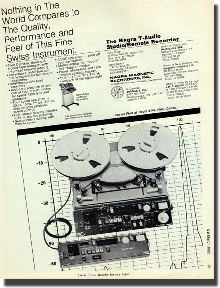 picture of Nagra ad