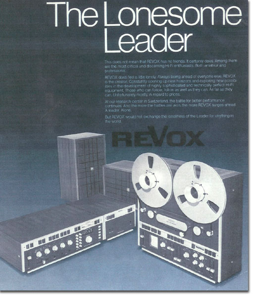 picture of 1982 Revox ad