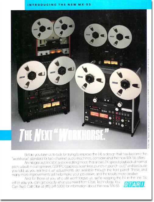 reel to reel tape recorders history