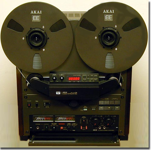 picture of Akai GX-747 reel tape recorder in Phantom's vintage museum