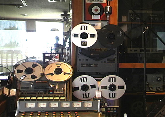 picture of Phantom's Akai GX-747 reel tape recorder