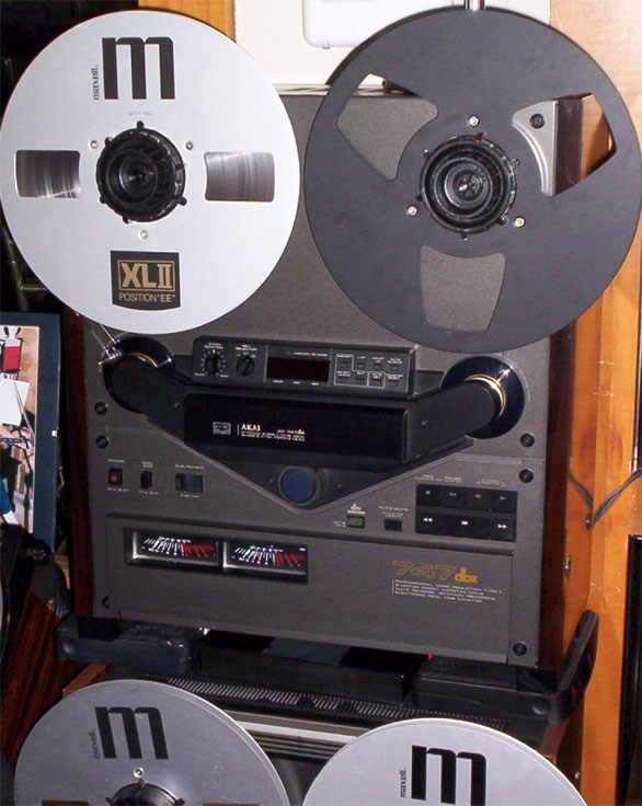 picture of   Phantom Productions Akai GX-747 reel tape recorder