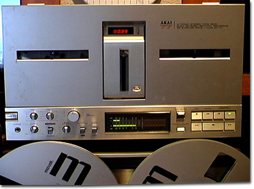 picture of Akai GX-77 reel tape recorder