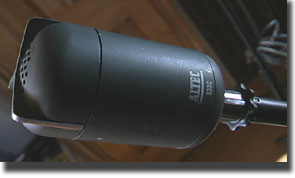 Altec 633C microphone in Reel2ReelTexas.com's vintage microphone and recording equipment collection