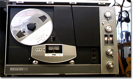picture of Ampex 2100 reel tape recorder