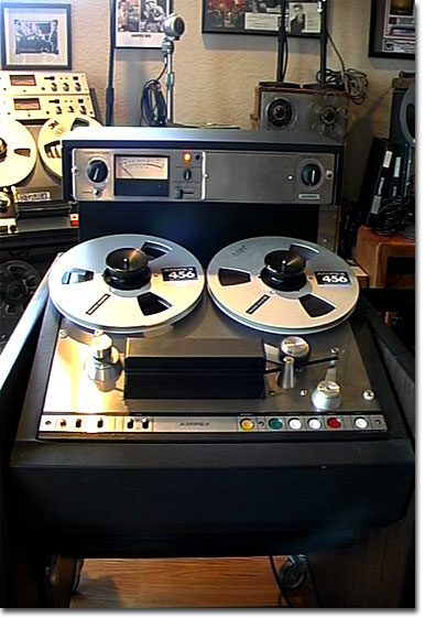 picture of Phantom's Ampex Ag-440 in console