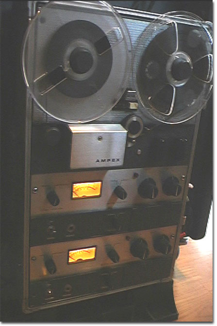 picture of Phantom's Ampex 600-2 reel tape recorder