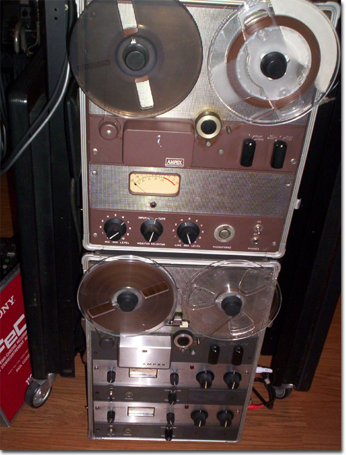 picture of Ampex 602 with 600-2