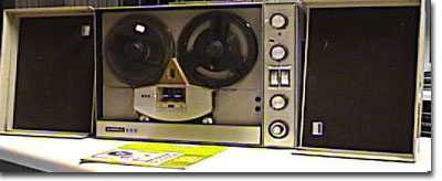 picture of Ampex 960 tape recorder