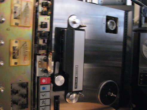 Ampex ATR 70 being restored in   Phantom Productions vintage tape recording collection