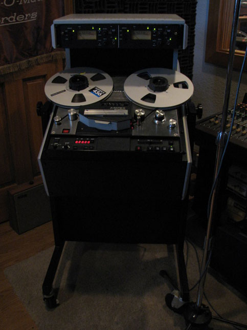 Ampex ATR800 in   Phantom Productions vintage reel to reel tape recorder collection