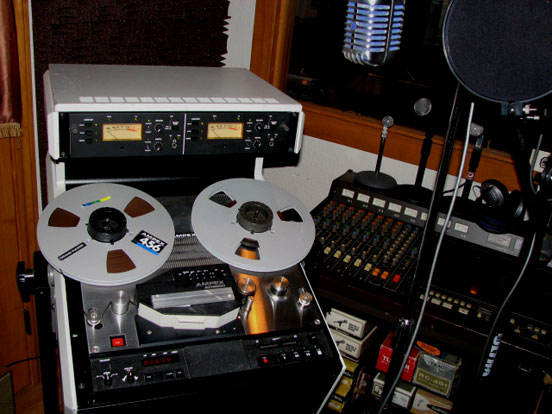 Ampex ATR-800 professional reel tape recorder in Reel2ReelTexas.com's vintage recording collection