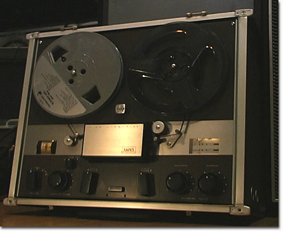 picture of Phantom's Ampex F-44 Fine Line 4460  reel tape recorder