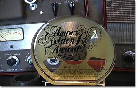 picture of 1982 Ampex Golden Reel award