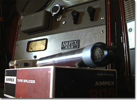 picture of Ampex tape splicer