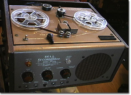 picture of Bell Record O Fone tape recorder