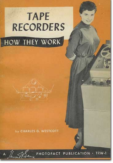picture of cover of 1957 Tape Recording book by Sam's Photofacts
