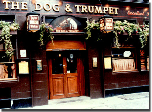 picture of Dog and Trumpet Pub, London, England