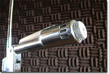 Electro Voice 664 chrome microphone in Reel2ReelTexas.com's vintage microphone and recording equipment collection