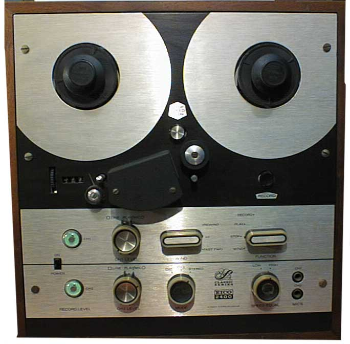 Eico 2400 in Reel2ReelTexas.com vintage reel to reel tape recorder collection
