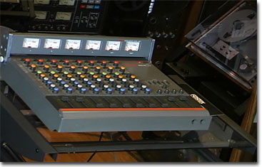 picture of Fostex 350 8 channel audio microphone mixer