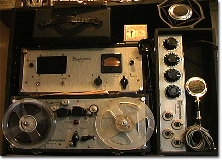 Magnecord PT6J-AH professional reel to reel tape recorder in the Reel2ReelTexas.com's vintage recording collection