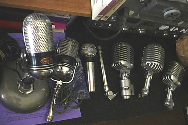 picture of vintage mics