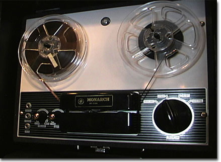 picture of the Monarch tape recorder