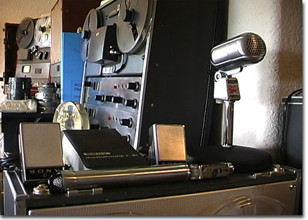 picture of PPI Museum with Ampex and Turner items
