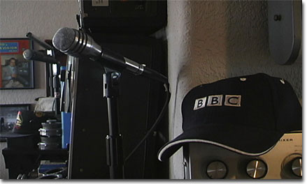 picture of BBC hat in Phantom Productions museum