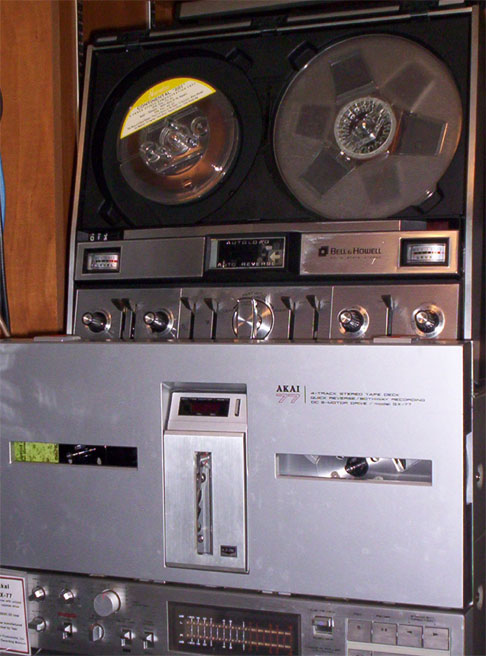 picture of   Phantom Productions Akai GX-77 reel tape recorder