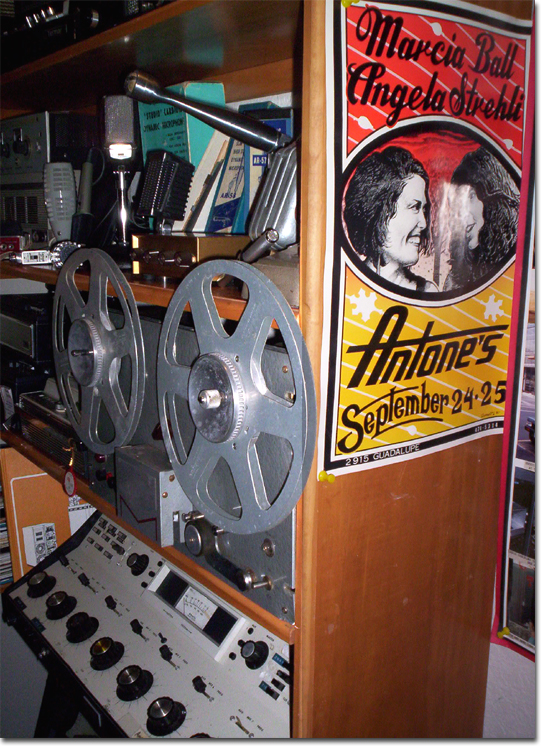 picture of Vintage Closet of Phantom's vintage reel tape recording museum
