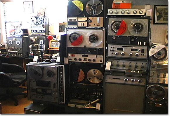 Sony tape recorders in Reel2ReelTexas.com vintage reel to reel tape recorder collection