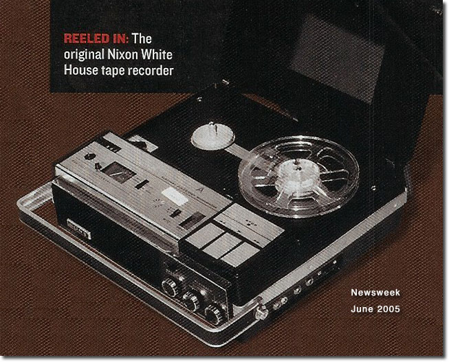 picture of Sony used by Nixon from Newsweek, June, 2005