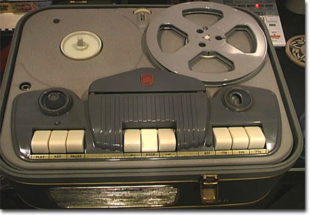 picture of Norelco recorder