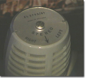 picture of Norelco stereo microphone