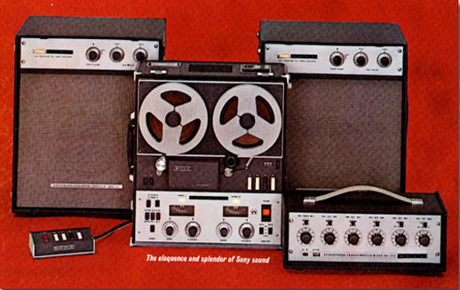 picture of 1962 Sony 777 Brochure ad