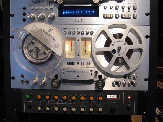 Pioneer RT 707 in Reel2ReelTexas.com vintage reel to reel tape recorder collection
