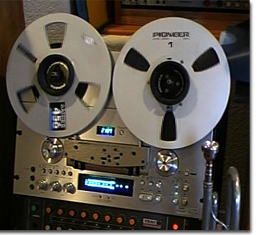 picture of Pioneer RT-901 reel tape recorder