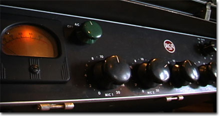 picture of RCA professional mixer