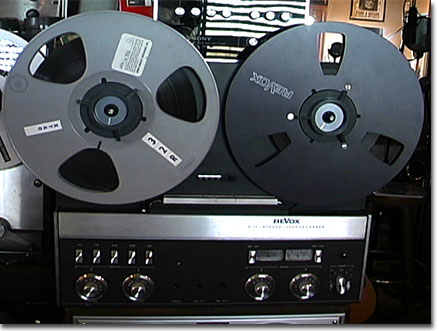 Revox A77 tape recorder  in the Reel2ReelTexas.com vintage recording collection