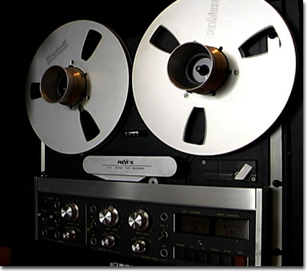 picture of Phantom's ReVox B77 reel tape recorder
