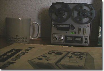 picture of radio in form of a Roberts tape recorder
