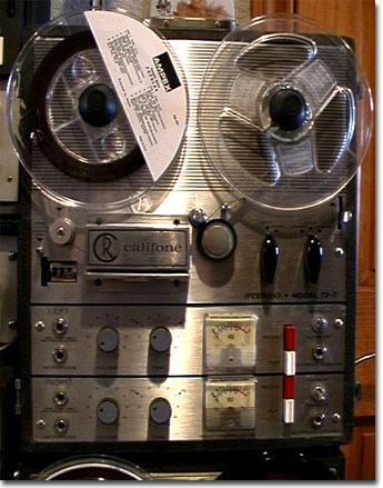 picture of Rheem Califone 73-T reel tape recorder