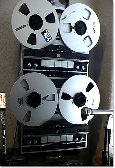 picture of Roberts 5000X & Akai X 300