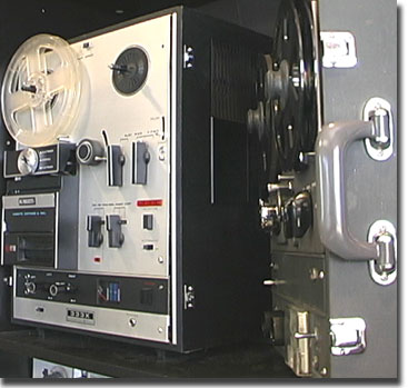 picture of Roberts 333 reel, cassette and 8 track unit